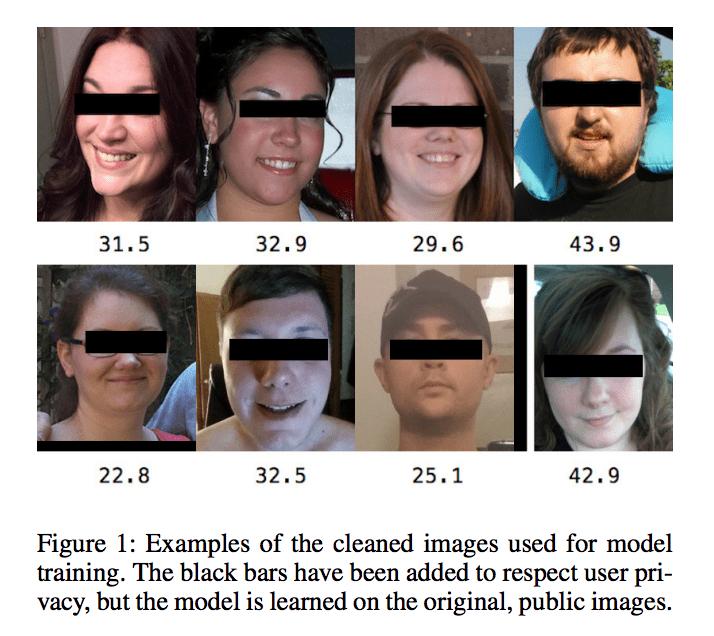 顔写真から肥満度を推定 – Face-to-BMI: Using Computer Vision to Infer Body Mass Index on Social Media