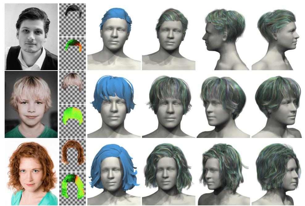一枚の写真からヘアスタイル全体が分かる技術 – AutoHair: Fully Automatic Hair Modeling from A Single Image
