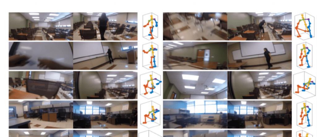 見えない体を見る. 一人称視点の映像からカメラをつけている人の姿勢を推定. – Seeing Invisible Poses: Estimating 3D Body Pose from Egocentric Video
