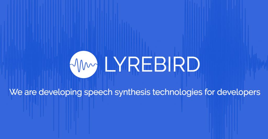 声質をコピーする音声合成システム – Lyrebird