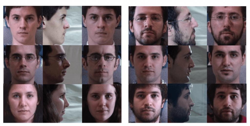 横顔から正面から見た顔を生成 – Beyond Face Rotation: Global and Local Perception GAN for Photorealistic and Identity Preserving Frontal View Synthesis