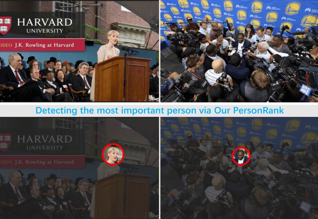 写真の中から重要な人を探す – PersonRank: Detecting Important People in Images