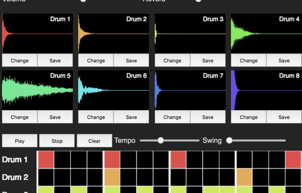 GANによる音色生成を用いたドラムマシン – WaveGAN demo