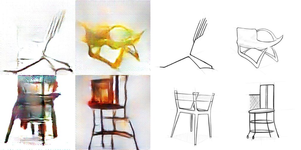 GAN + 人間のデザイナーで椅子をデザイン – The chAIr Project